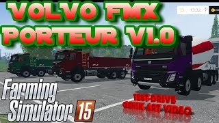"[""VOLVO FMX PORTEUR V1 0 farming simulator 2015"", ""VOLVO"", ""farming simulator 2015"", ""farming"", ""simulator 2015"", ""mod"", ""mods""]"