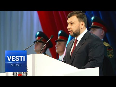 One Big Family: Denis Pushilin, New Head of Donetsk, Pledges to Return Into the Russian Fold