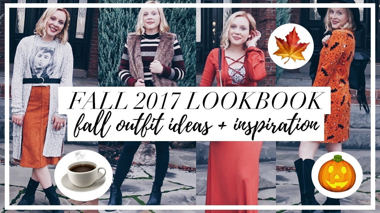 FALL 2017 LOOKBOOK // 5 Easy Fall Outfit Ideas + Inspiration 1
