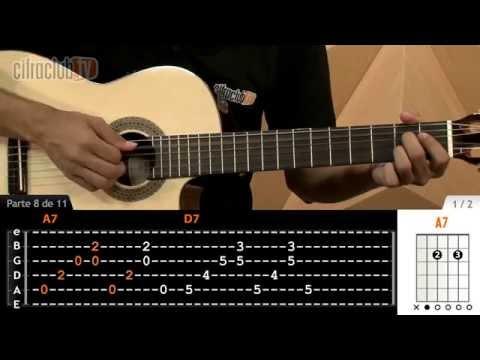 Eu Sei Que Vou Te Amar - Tom Jobim (aula de violão simplificada)