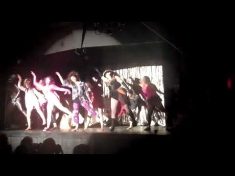 Spandy Andy in Thriller  Screaming Chickens Burlesque