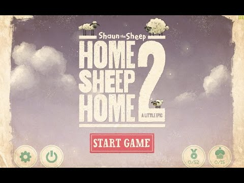 Shaun the Sheep - Home Sheep Home 2 - Gameplay (ios, ipad) (ENG)