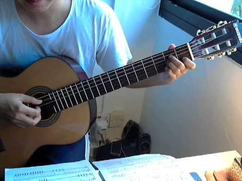 Ha Trang - Trinh Cong Son (guitar dem hat)