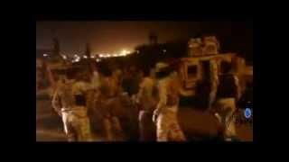 قوات المشاة البحري العراقيه في الميدان 2014
