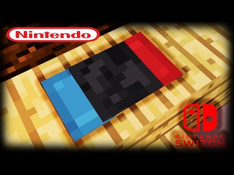 Minecraft How To Make A Nintendo Switch Youtube