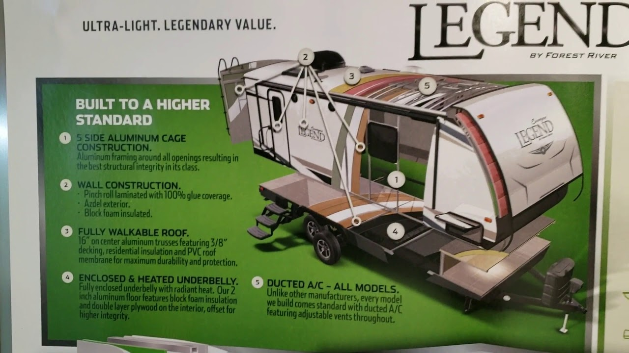 2020 Surveyor Legend 264RKLE Travel Trailer at Couch's RV Nation an RV  Wholesaler