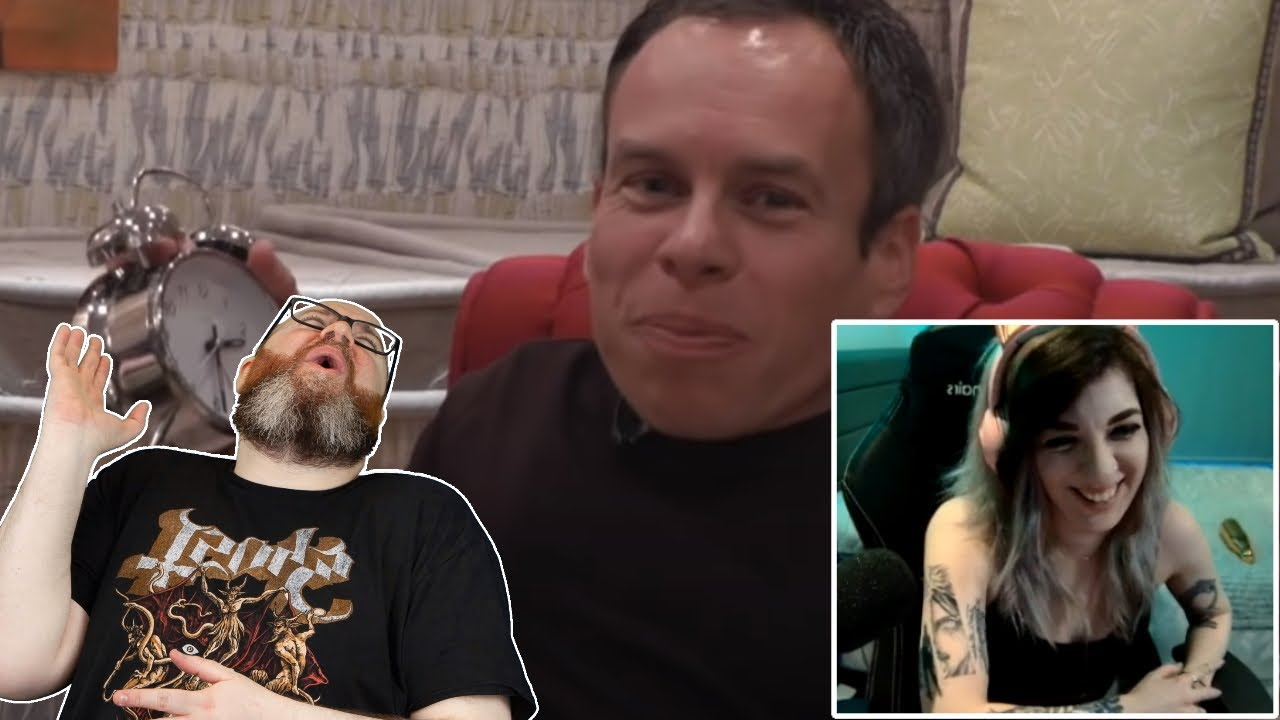 Simon does a perfect Warwick Davis impression after Warwick calls him out