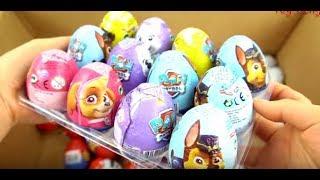 New Surprise Eggs Unboxing, Zaini Eggs, Kinder Surprise, Cars 2, Thomas, Toy Story...