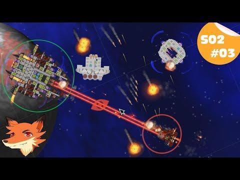 Cosmoteer S02 #3 [FR] - Trois vaisseaux ! Chacun sa spécialité !