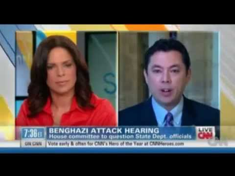 Republican Congressman brags about cutting Benghazi security funding on CNN