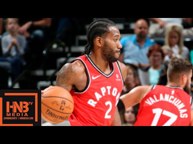Toronto Raptors vs Utah Jazz Full Game Highlights | 02.10.2018, NBA Preseason