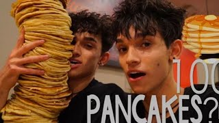 100 Pancakes!   Lucas and Marcus
