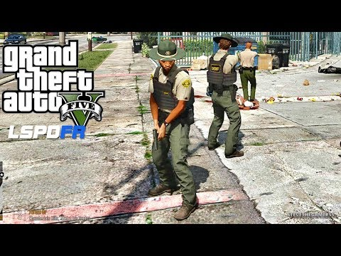 GTA 5 MODS LSPDFR 761 - NEW CHARGER PATROL !!! (GTA 5 REAL LIFE PC MOD)