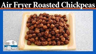 How to roast seasoned chickpeas in an air fryer