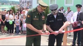 У российских военных в Цхинвале появился новый спорткомплекс и досуговый центр