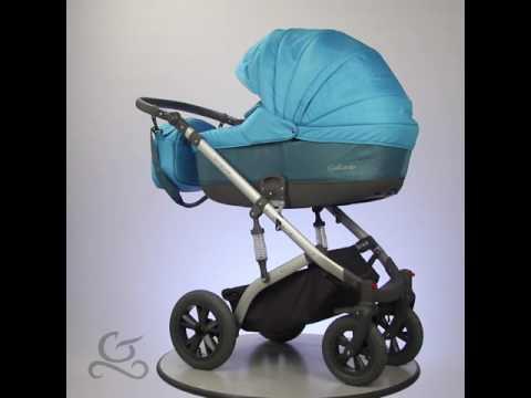 Gallardo Baby Premium Babakocsi - Mózes - Türkizkék - Kék apró mintás 8d9226fb73