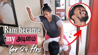 24 hours Adimai Challenge | Epic Revenge on Boyfriend | Couple challenge in Tamil