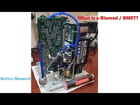What Is A Biomed / BMET??