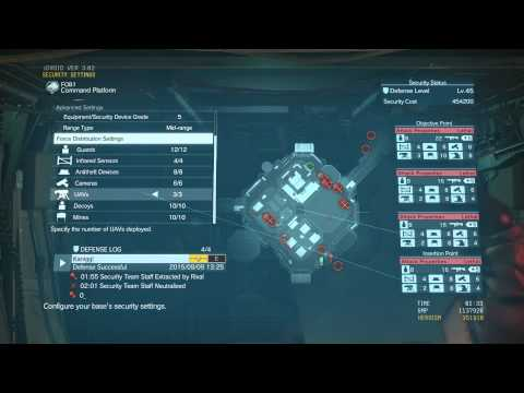 MGS5 - FoB Intro - FOB Security Guide