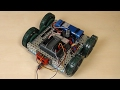 VEX EDR Intro. Arc turn with the VEX robot