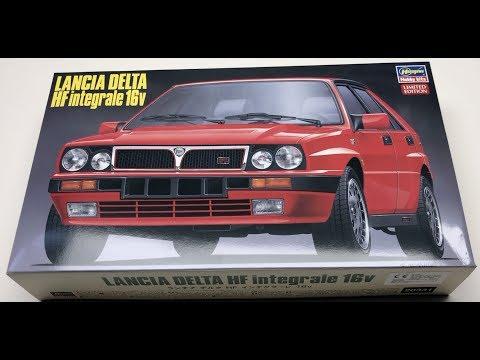 Unboxing: Hasegawa Lancia Delta HF Integrale 16v