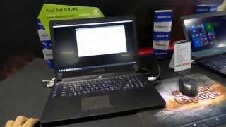 gigabyte p37x v4 17 3 notebook bemutat vide