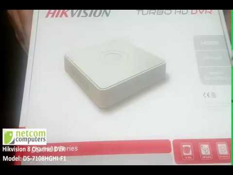 Hikvision 8 Channel DVR DS-7108HGHI-F1