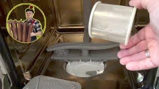 видео Почему в посудомоечной машине остается вода