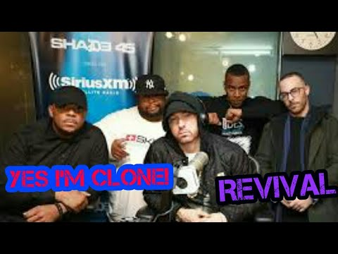 Eminem Talks About His Upcoming Album REVIVAL & Rumours On Him Of Being CLOWN (SHADE 45)