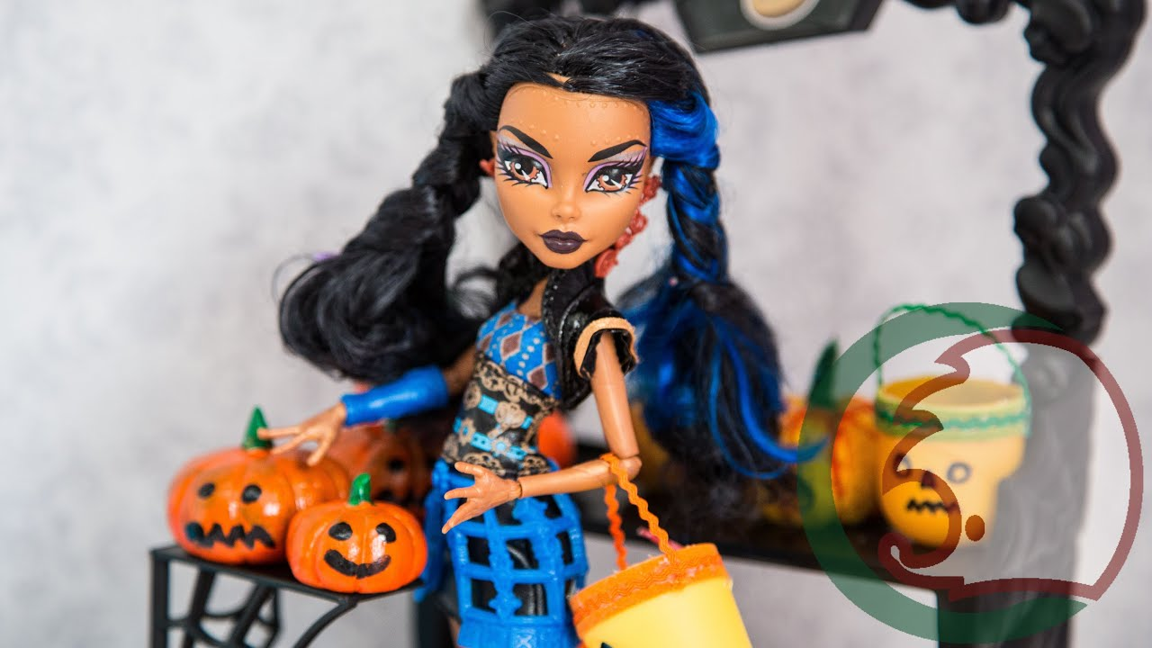 Костюм на Хэллоуин для куклы Monster High «Ведьмочка Тыковка 773