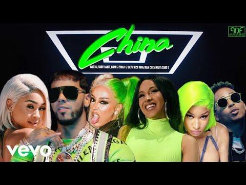 Anuel AA, Nicki Minaj, Daddy Yankee, Doja Cat,  Karol G, Cardi B, Ozuna & More - China (Music Video)