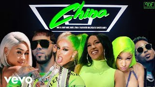 Baixar Anuel AA, Nicki Minaj, Daddy Yankee, Doja Cat,  Karol G, Cardi B, Ozuna & More - China (Music Video)