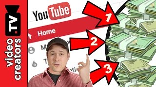 The 3 Best Ways to Make Money on YouTube