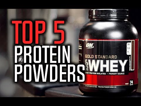Best Protein Powders In 2018 - Gain Muscle & Lose Fat!