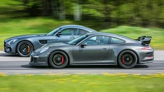 Mercedes-AMG GT S vs Porsche 911 GT3 PDK (991) GTBOARD.com Event May 2015