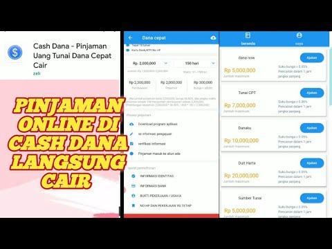 Pinjaman Online Langsung Cair Di Cash Dana Cara Pinjol Mudah Dan Cepat Terbaru Youtube