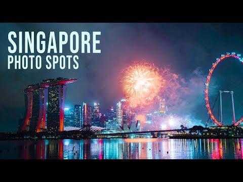 Top 5 Singapore Photo Spots - Where to take photos in Singapore