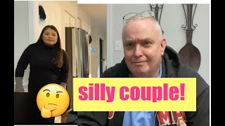Silly Filipina American Couple Does Review