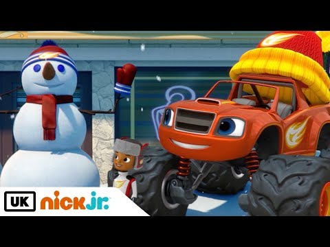 Blaze and the Monster Machines | Snowday Showdown | Nick Jr. UK