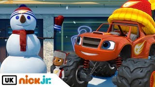 Blaze and the Monster Machines | Snowday Showdown | Nick Jr. UK