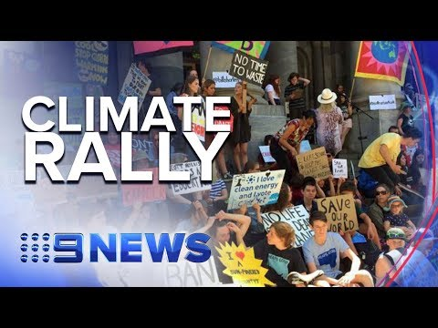 School students protest against climate change inaction | Nine News Australia