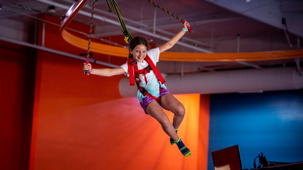 Take A Look At The New Urban Air Adventure Park Youtube