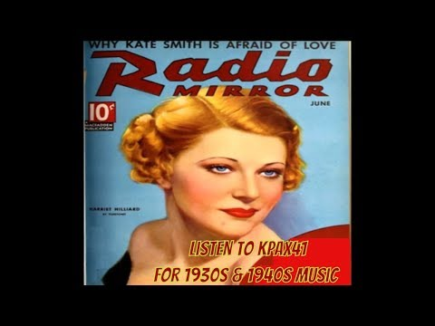 Turn On The Radio To 1930s & 1940s Music  @KPAX41