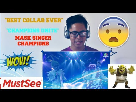 Love me like you do - หน้ากากซูโม่ Ft. หน้ากากทุเรียน | THE MASK SINGER 2 REACTION! (CHAMPS UNITE!)