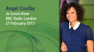 Angel Coulby on BBC Radio London (27 Feb 2013)