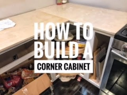 How to Build a Corner Cabinet for Your Kitchen