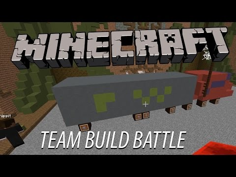 Minecraft | TRATTIGA TORNADOS & TRUCKAR  | Team Build Battle