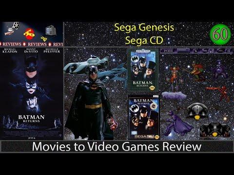 Movies to Video Games Review -- Batman Returns (Sega CD/Genesis)