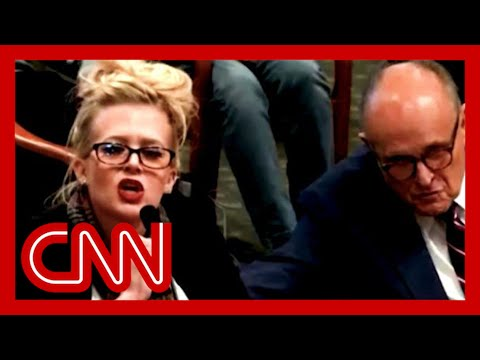 CNN: Giuliani's witness draws audible laughter during testimony