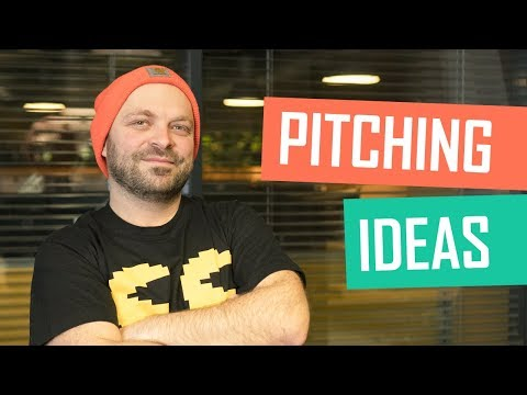 How to pitch games and ideas| Talks with Experts s01e11